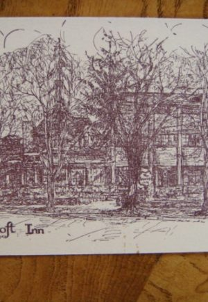 Roycroft Inn Postcard