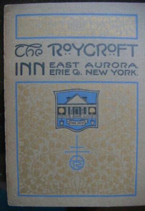Roycroft Inn Booklet