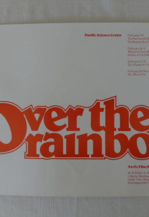 Over the Rainbow Seattle Oz Poster