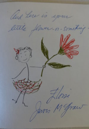Eloise McGraw Autograph Note Oz