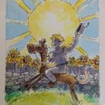 Wizard of Oz Tarot Card Deck Original Art