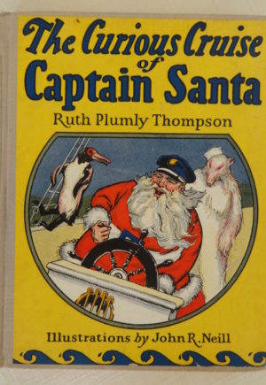 Curious Cruise of Captain Santa 1st Edition Book