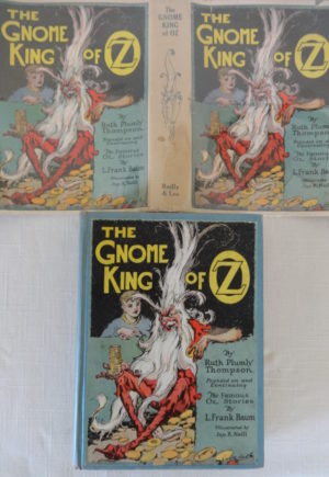 Gnome King of Oz book dust jacket