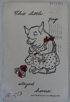 This Little Pig W W Denslow Postcard
