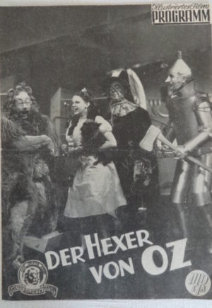 Der Hexer von Oz Wizard of Oz Austrian Movie Program