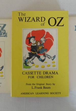Wizard of Oz Cassettes Denslow Neill Book Illustrations