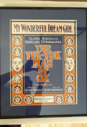 Tik-Tok-Man of Oz My Wonderful Dream Girl Sheet Music