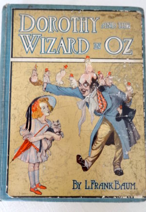 Dorothy and the Wizard in Oz book 1st edition l frank baum