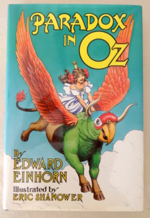 Paradox in Oz book 1st edition signed
