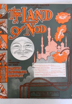 Land of Nod Sheet Music w w Denslow