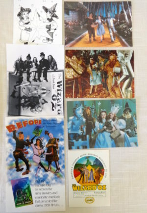 Wizard of Oz Postcards Ephemera Movie