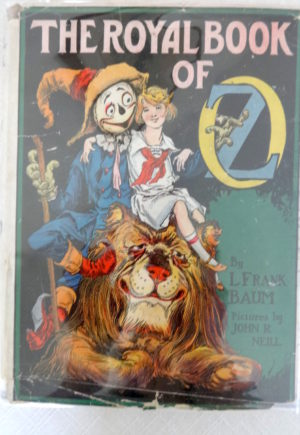 Royal Book of Oz Dust Jacket
