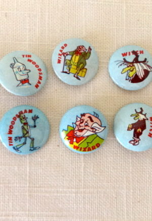 1967 Off to See the Wizard Pinback Buttons