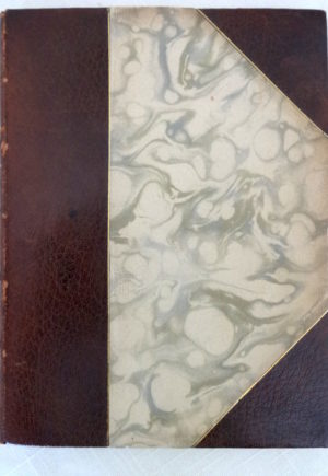 Story of a Passion Roycroft 3/4 Levant Leather Book 1901 Illumined