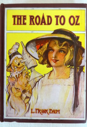 Road to Oz Book Vintage L Frank Baum Wizard of Oz