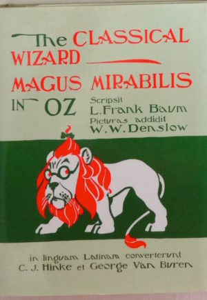 Classical Wizard of Oz Book in Latin
