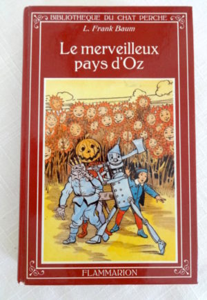 Marvelous Land of Oz Wizard of Oz book in French