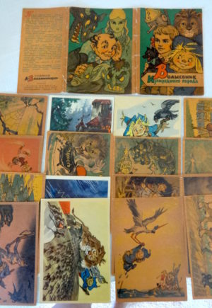 Russian Wizard of Oz Volkov Vladimirsky Postcard Set