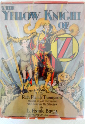 Yellow Knight of Oz book Dust Jacket