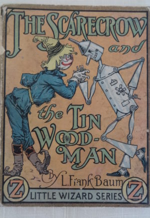 Scarecrow and Tin Woodman of Oz book 1913 Little Wizard