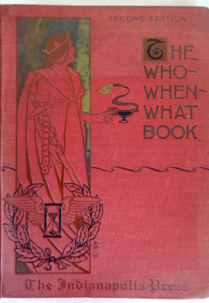 denslow who when what book indianapolis press