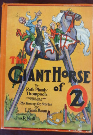 giant horse of Oz Book Ruth Plumly thompson