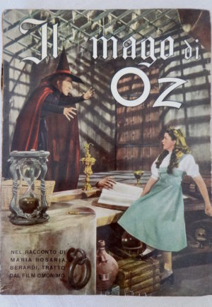 il mago di oz italian wizard of oz book mgm movie