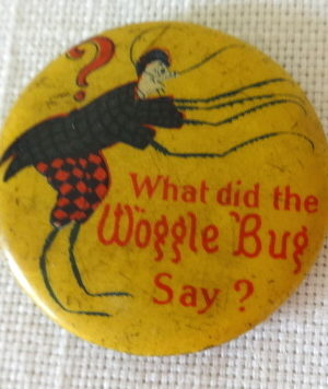 What did the wogglebug say button wizard of oz