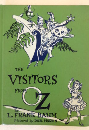 visitors from oz book library binding