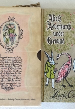 alices adventures under ground book