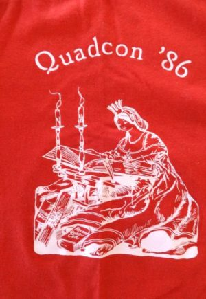 quadcon wizard of oz t-shirt 1986