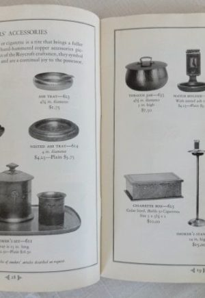roycroft copper catalog 1924 original