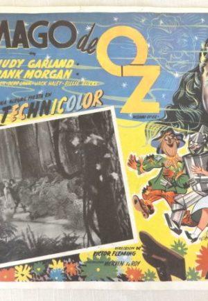 El Mago de Oz Mexican 1939 Wizard of OzLobby Card