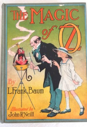 Magic of Oz book l frank baum Wizard of Oz