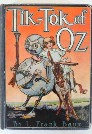 Tik Tok of Oz Color Plates book