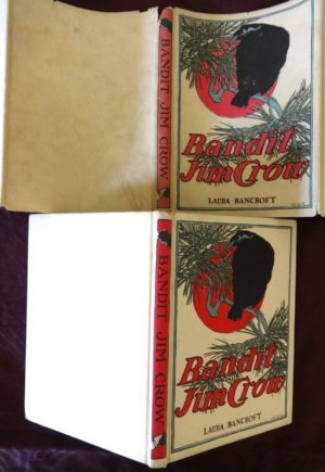 Bandit Jim Crow Book Dust Jacket L Frank Baum