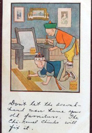Chinamel Postcard W W Denslow