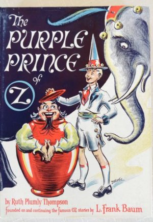 Purple Princeof Oz Dick Martin Dust Jacket Book
