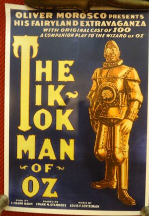 Tik-Tok Man of Oz Poster