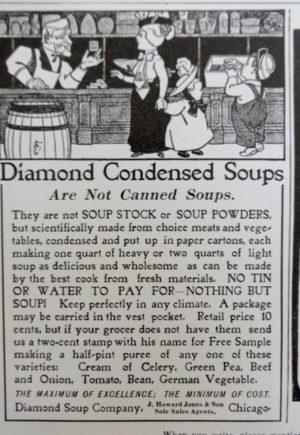 Denslow Diamond Condensed Milk Ad