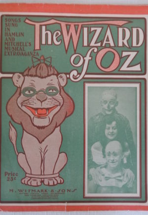 Wizard of Oz Stageplay Sheet Music