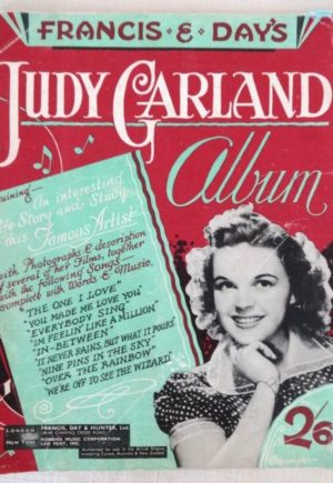 Judy Garland Album British 1940