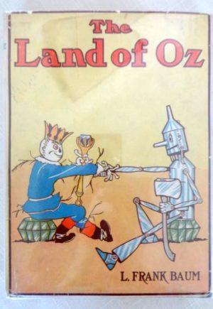 Land of Oz Copp Clark Dust Jacket