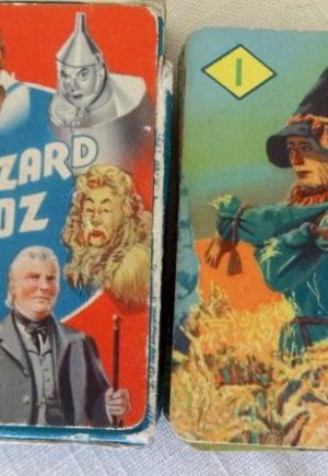 Wizard of Oz British Playing Cards MGM