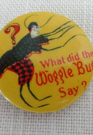 Wogglebug Pin Button Wizard of Oz
