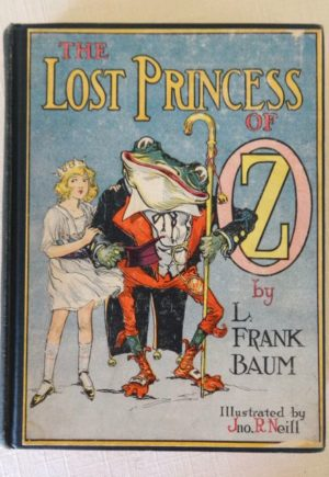 Lost Princess of Oz BOok