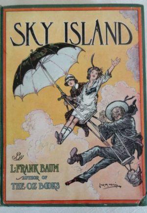 Sky Island Color Frontiapiece l frank baum