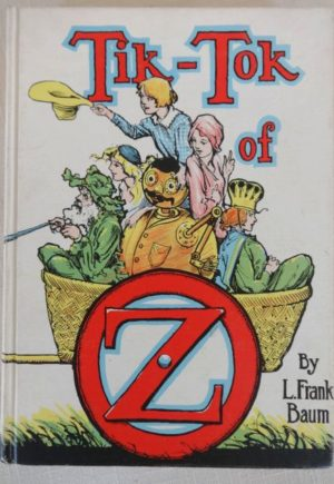 Tik Tok of oz book White Cover