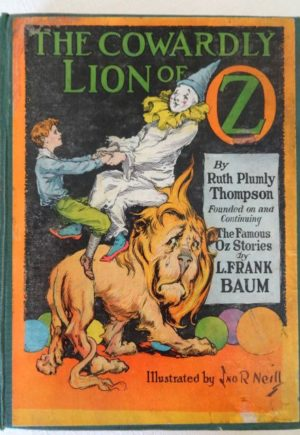 Cowardly Lion of Oz book 1st edition