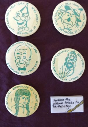 Chittenango Wizard of Oz Buttons
